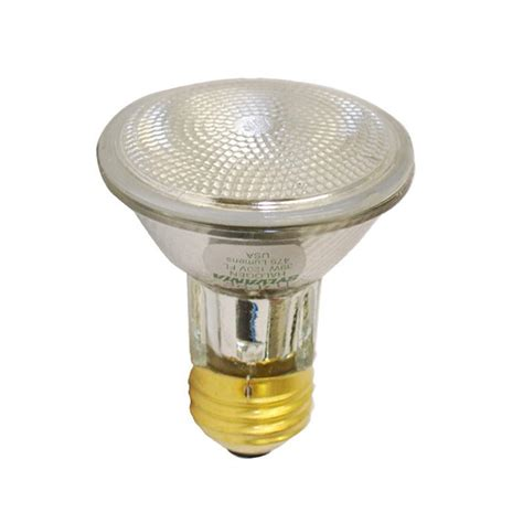 sylvania 39w 120v par20 fl30 e26 halogen reflector light