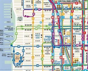 Plan De Manhattan : transports new york metro bus ferry trains bateaux ~ Melissatoandfro.com Idées de Décoration
