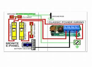 Midnite Classic Mppt Solar Charge Controller Wiring Diagram