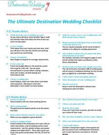 destination wedding checklist destination wedding details - Destination Wedding Checklist