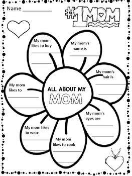 Mother's Day Writing Activities - 61 PAGES(BONUS:15 PAGES