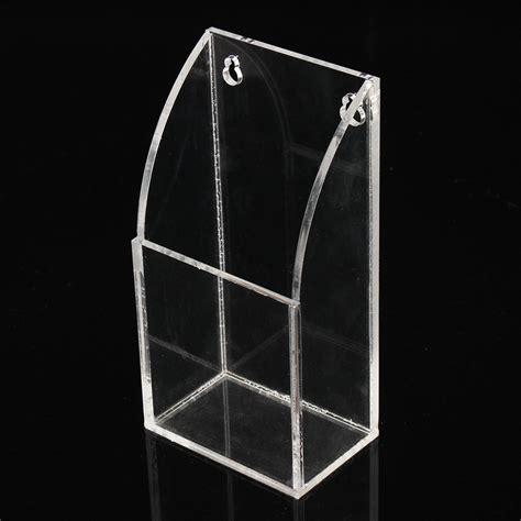 Tv Rack Wandmontage by Tv Remote Holder Wall Mount Acrylic Organiser Box