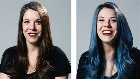 Women Dye Their Hair For The First Time Youtube