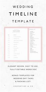 best 25 wedding day itinerary ideas only on pinterest With wedding day timeline template word