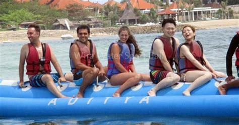 Banana Boat Ride At Tanjung Benoa by Water Sports Tour Packages Nusa Dua Bali No 7 Free Hotel