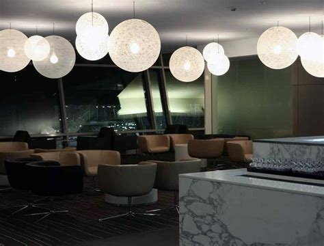 qantas business lounge sydney domestic terminal  space