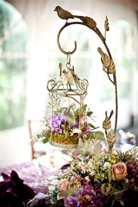 amazing birdcage wedding centerpieces