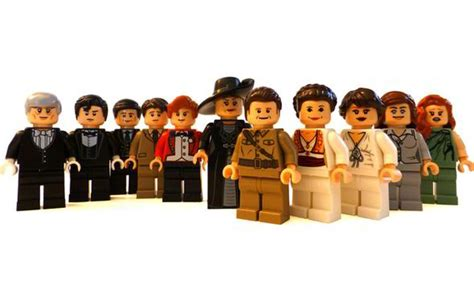 gifts for downton abbey fans downton abbey fan uses thousands of bricks to create