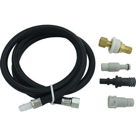 kitchen sink sprayer hose partsmasterpro universal replacement hose for kitchen 5955