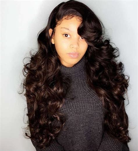 Sew In And Wavy Weave Hairstyles by 2536 Best Sew In Hairstyles Black Images