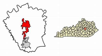 Svg Madison Kentucky County Richmond Unincorporated Incorporated