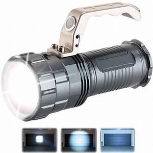 Lampe Torche Led Ultra Puissante : lampe torche antichoc tanche et rechargeable avec led ~ Melissatoandfro.com Idées de Décoration