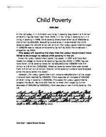 persuasive essay on poverty