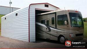 Carport Vor Garage : metal garage for one car 14 39 x 36 39 shop metal buildings ~ Lizthompson.info Haus und Dekorationen