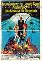 Diamonds Are Forever (1971) - (Connery) Italian 4-sheet F ...