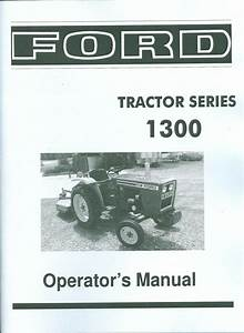 Ford Tractor Owner U0026 39 S Manual
