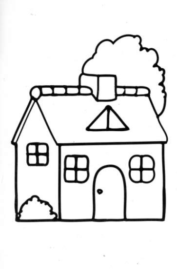 Ausmalbilder Haus Malvorlagen Ausdrucken 3