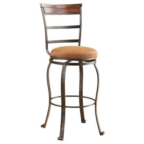 acme furniture tavio 29 quot swivel bar stool in antique