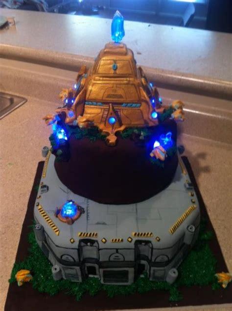 Amazing Starcraft Protoss Cake Pic Global Geek News