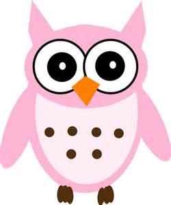 owls baby shower pink owl clip at clker vector clip online