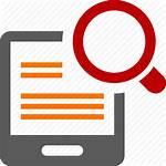 Study Icon Case Icons Transparent Data Magnifier