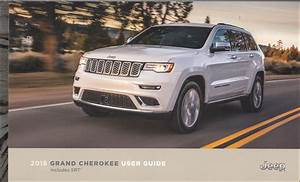 2018 Jeep Grand Cherokee User Guide Owner U0026 39 S Manual Original