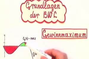Nullstellen Berechnen Ausklammern : video gewinnmaximum berechnen so geht 39 s ~ Themetempest.com Abrechnung