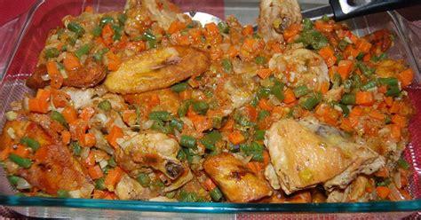 la cuisine africaine poulet dg directeur général recette en vidéo recette