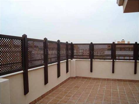 periímetros prefabricados de madera Barandales terraza