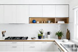 Dealing With Built In Kitchens For Small Spaces Kitchens And Works Well For Storage In Small Kitchens Photo