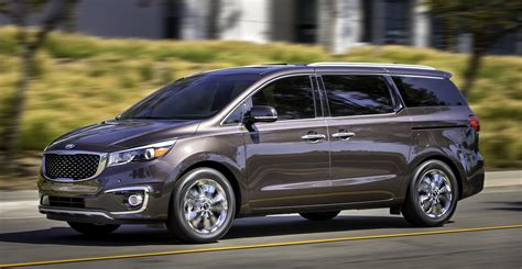 Kia Grand Sedona Picture by 2015 Kia Carnival Sedona Breaks Cover In New York Paul
