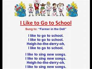 I Like to Go to School (Back to School Rhymes & Songs ...
