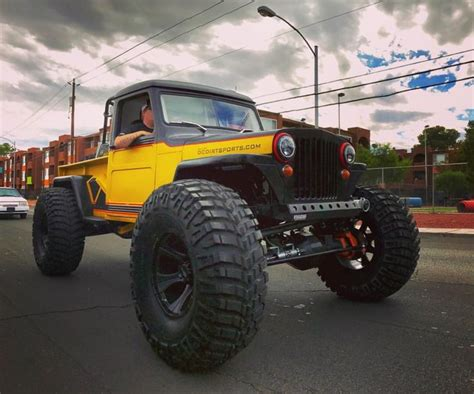 lifted jeep truck 103 best images about willys pickup on pinterest jeep