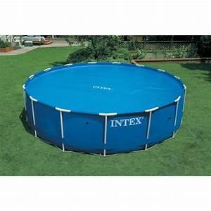 Bache À Bulles Piscine : intex b che bulles piscine ronde diam tre 3 05 m achat ~ Melissatoandfro.com Idées de Décoration