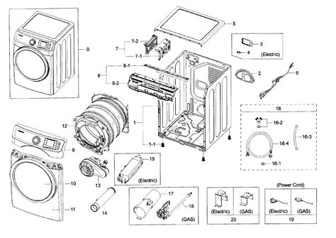 samsung dryer parts model dvhgpa sears