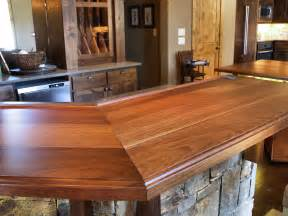 Walnut Wood Bar Tops