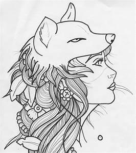 Tatouage Loup Graphique : tatouage dessin loup graphique teuk ~ Mglfilm.com Idées de Décoration