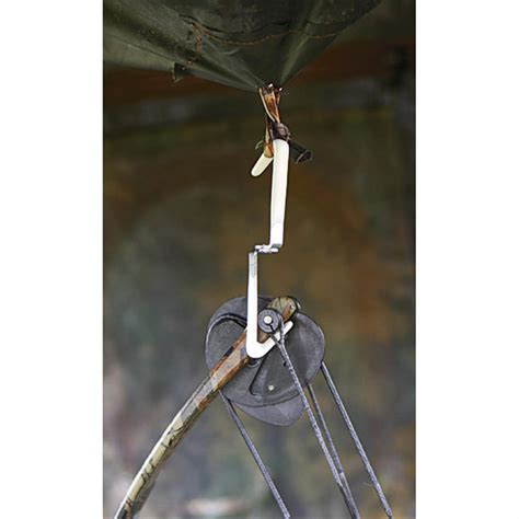 ground blinds for bow 2 pk iron talon 174 ground blind bow hangers 154146