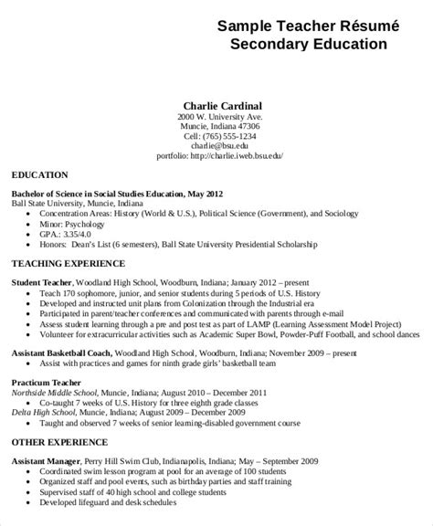 Generic Resume Template by Generic Resume Template 28 Free Word Pdf Documents