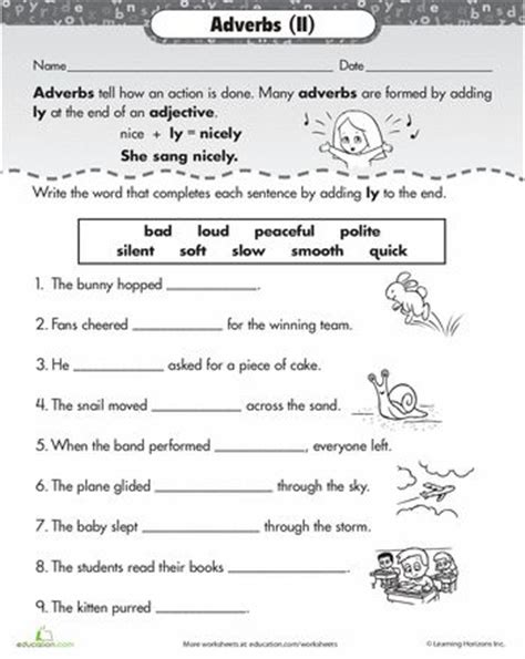 ly adverbs worksheets adverbs and articles