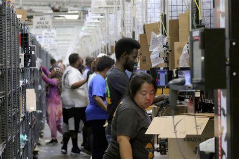 pressure afraid   bathroom breaks  amazons fast paced warehouse world