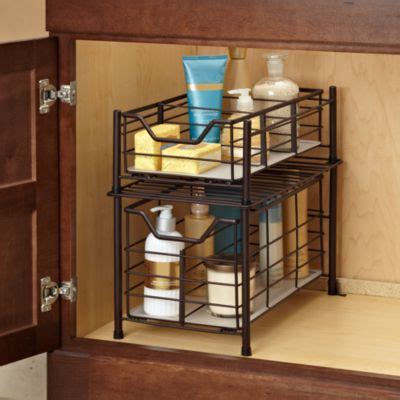 Bathroom Cabinets Bed Bath And Beyond by Deluxe Bathroom Cabinet Drawer In Bronze Bed Bath Beyond