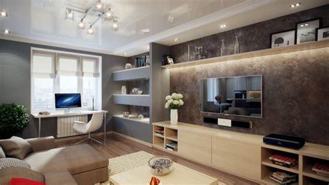 Finde deine moderne wohnwand in hochglanz oder landhausstil. Beleuchtung im Wohnzimmer modern: 30 Ideen mit LED Licht ...