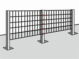 Zaun Inkl Montage : montageanleitung f r ihren zaun ~ Watch28wear.com Haus und Dekorationen