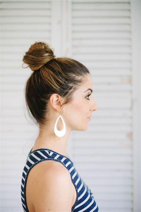 Beauty 3 Easy Hairstyles For Moms Lauren Mcbride