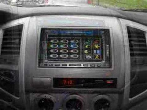 tacoma dvd gps double din head unit youtube
