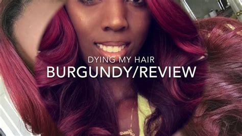 Diy Burgundy Hair Color / Hair Reivew