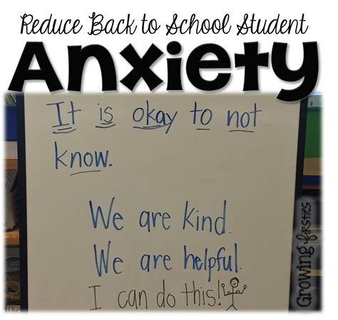 Reduce Student Anxiety  Growing Firsties