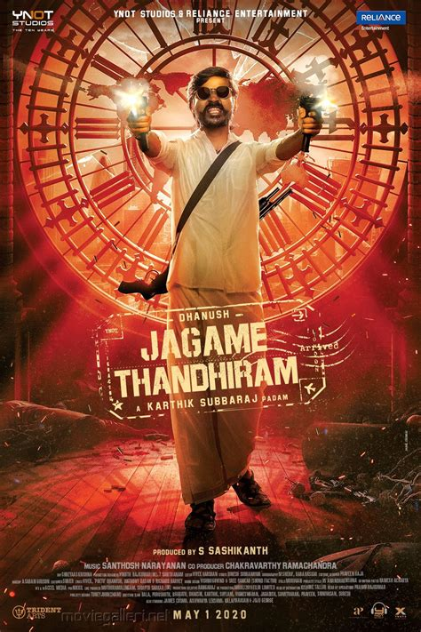 There are no featured reviews for because the movie has not released yet (). Actor Dhanush Jagame Thandhiram First Look Poster HD   New ...
