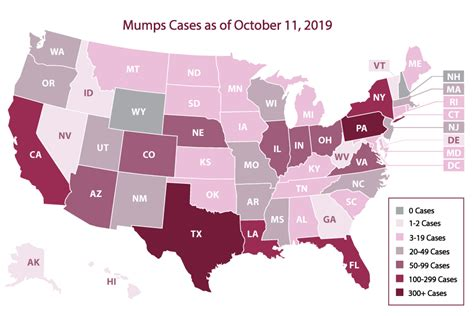 More than 700 cases of mumps in the US this year, CDC says ...
